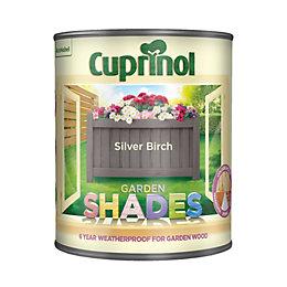 Cuprinol Garden Shades Silver birch Matt Wood paint