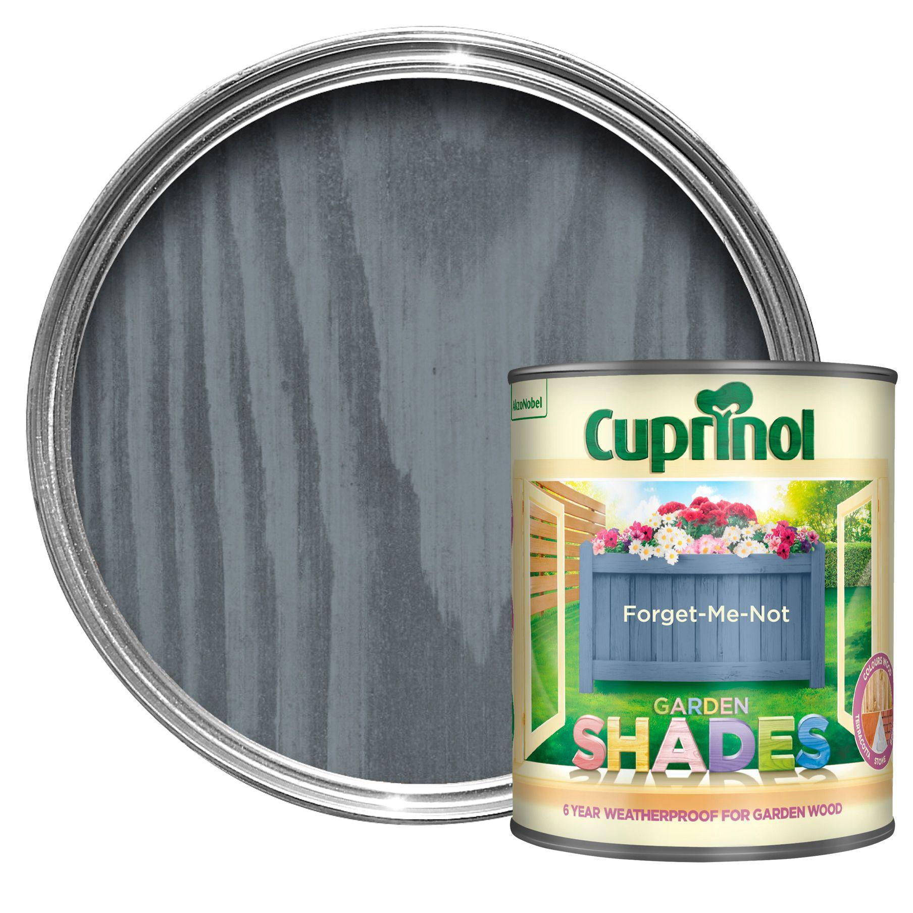 Cuprinol Garden Shades Forget Me Not Matt Wood Paint 1l