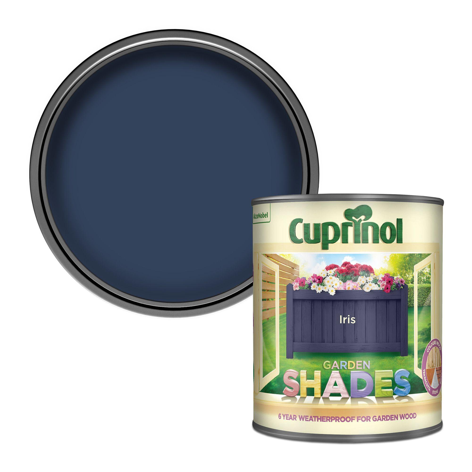 Cuprinol Garden Shades Iris Matt Wood Paint 1 Departments Diy At B Q