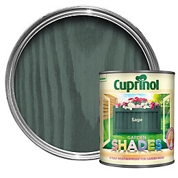 Cuprinol Garden Shades Sage Matt Wood Paint 1L
