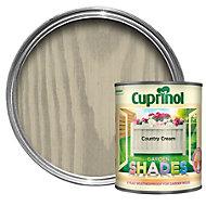 Cuprinol Garden Shades Country cream Matt Wood paint 1L