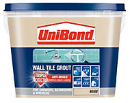 UniBond Beige Ready mixed grout (W)1.38kg