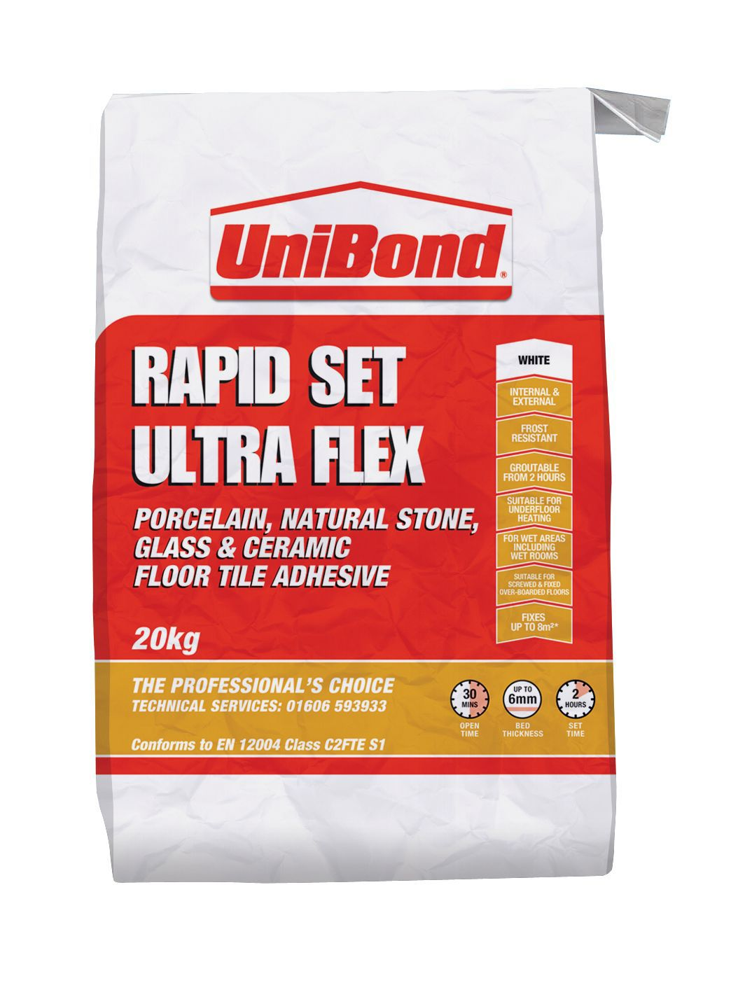Unibond Ultra Flex Powder Wall Amp Floor Tile Adhesive