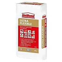 UniBond Ultra flex Powder Wall & floor tile adhesive, Grey 20kg