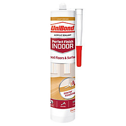 UniBond Light Brown Floor sealant, 300 ml