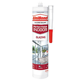 UniBond Perfect Finish Indoor Translucent Glazing Sealant 300