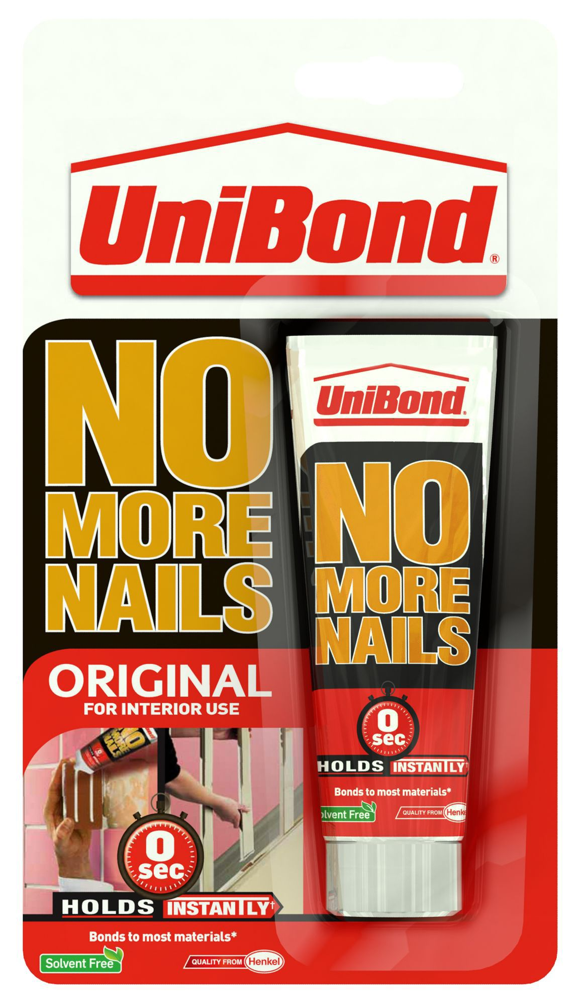 Unibond No More Nails Original Solvent Free Grab Adhesive 0.04L ...