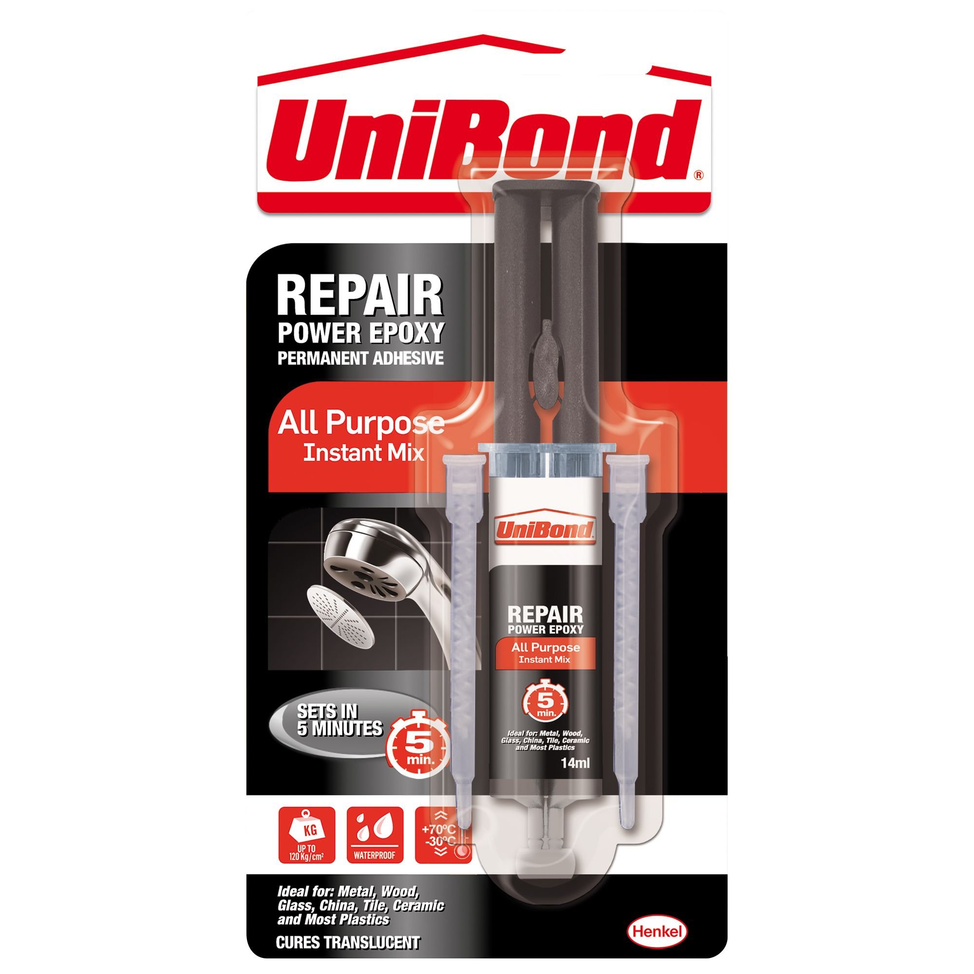 UniBond Epoxy glue 25 | Departments | DIY at B&Q