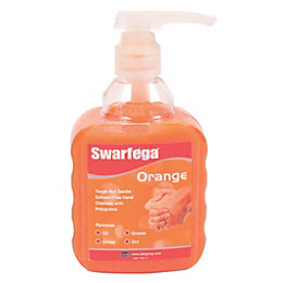 Swarfega Orange Hand Cleaner with Pump, 450 ml