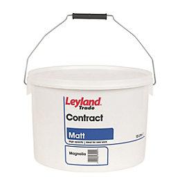Leyland Trade Contract Magnolia Matt Emulsion Paint 10L