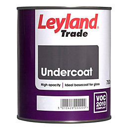 Leyland Trade White Matt Undercoat 0.75L Tin