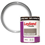 Leyland Trade Pure brilliant white Gloss Undercoat 3L