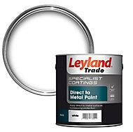 Leyland Trade Specialist White Semi-gloss Metal paint 750 ml