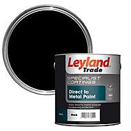 Leyland Trade Specialist Black Semi-gloss Metal paint 2.5L