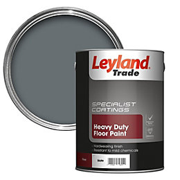 Leyland Trade Heavy Duty Slate Satin Floor &