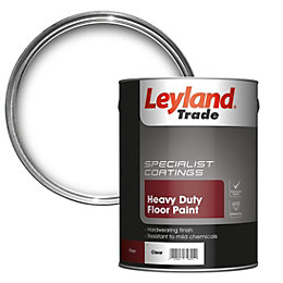 Leyland Trade Heavy Duty Clear Satin Floor &
