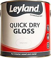Leyland White Gloss Paint 2.5L