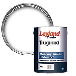 Leyland Trade Truguard White Masonry Primer & undercoat