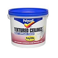 Polycell Polyripple White Matt Emulsion paint 5L