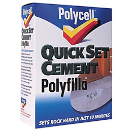 Polycell Quick Set Cement Filler 2kg