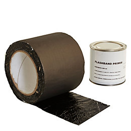 Evo-Stik Flashband Grey Flashing tape (L)3.75m (W)100mm