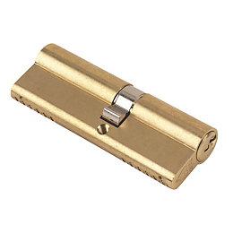 Yale 90 mm Brass Euro Cylinder Lock