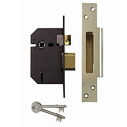 Yale 64mm Chrome Effect 5 Lever Mortice Sashlock