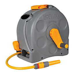 Hozelock 2 in 1 Wall mounted Hose reel