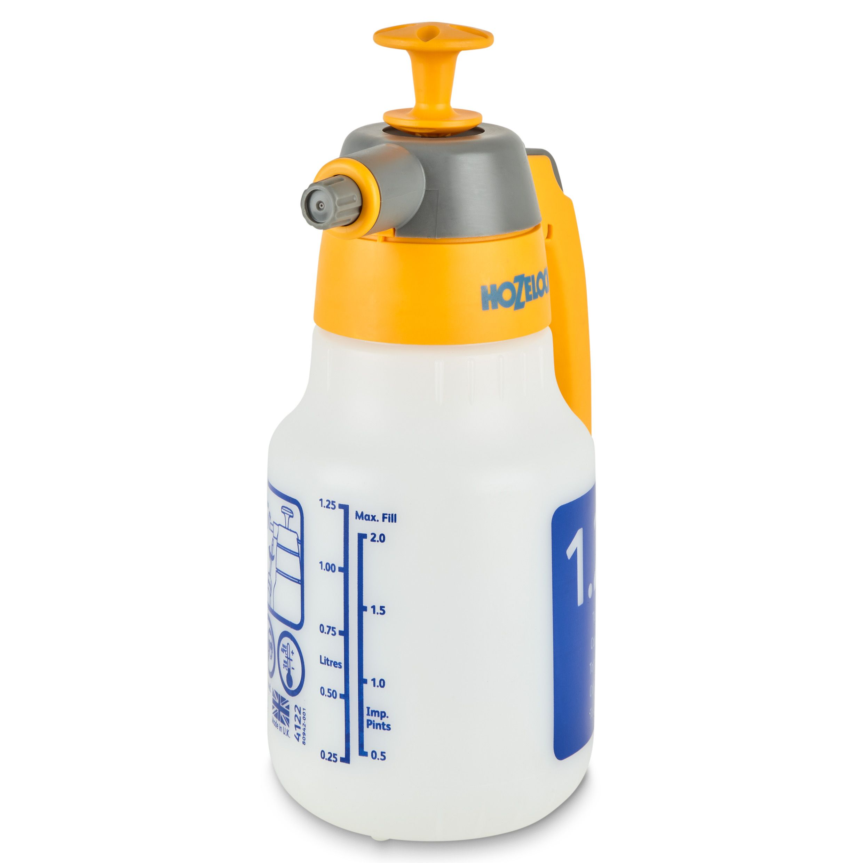 Hozelock Pressure Sprayer 1 25l Departments Diy At B Amp Q