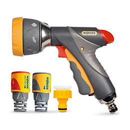 Hozelock Grey Metal spray gun starter set