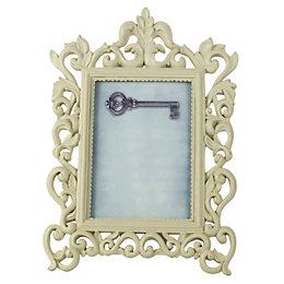 Cream Single Frame Resin Picture Frame (H)24cm x