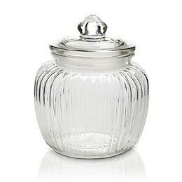 Glass Jar, Small