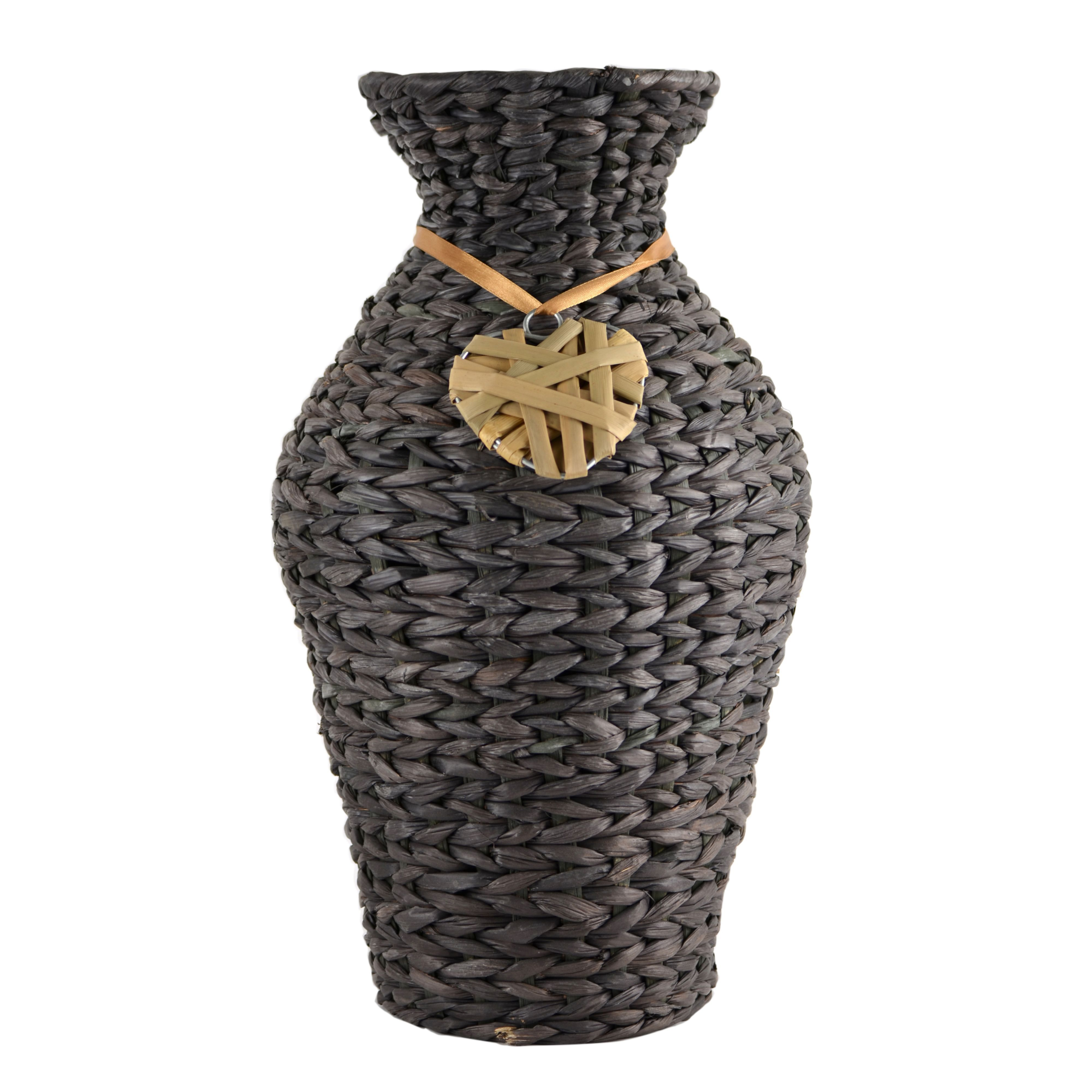 Brown Wicker Vase Large Departments Diy At B Amp Q