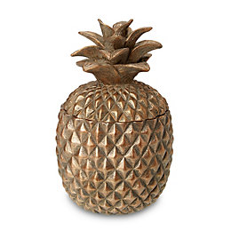 Pineapple Unscented Filled Candle