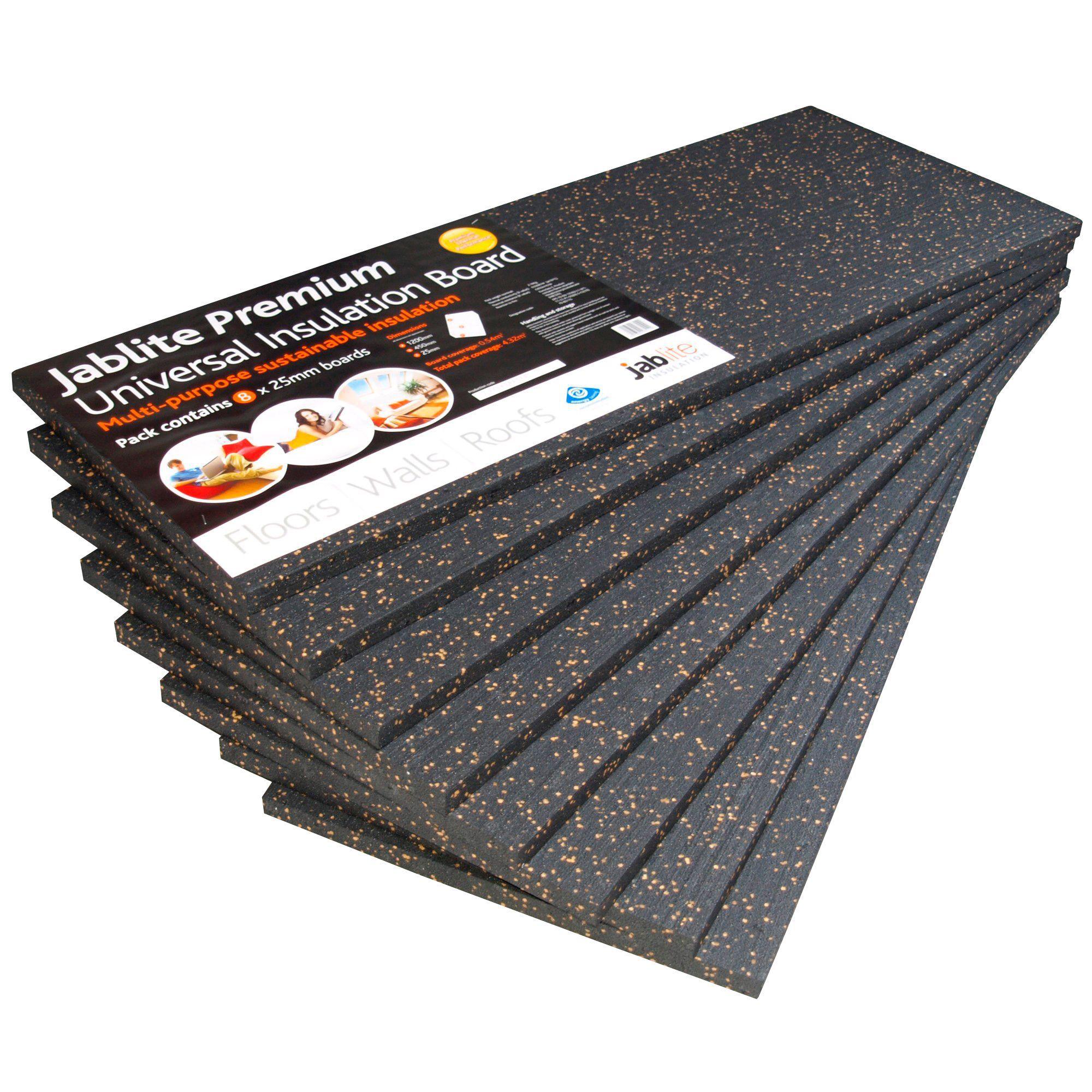 Jablite Premium Insulation Board 1200mm 450mm 25mm