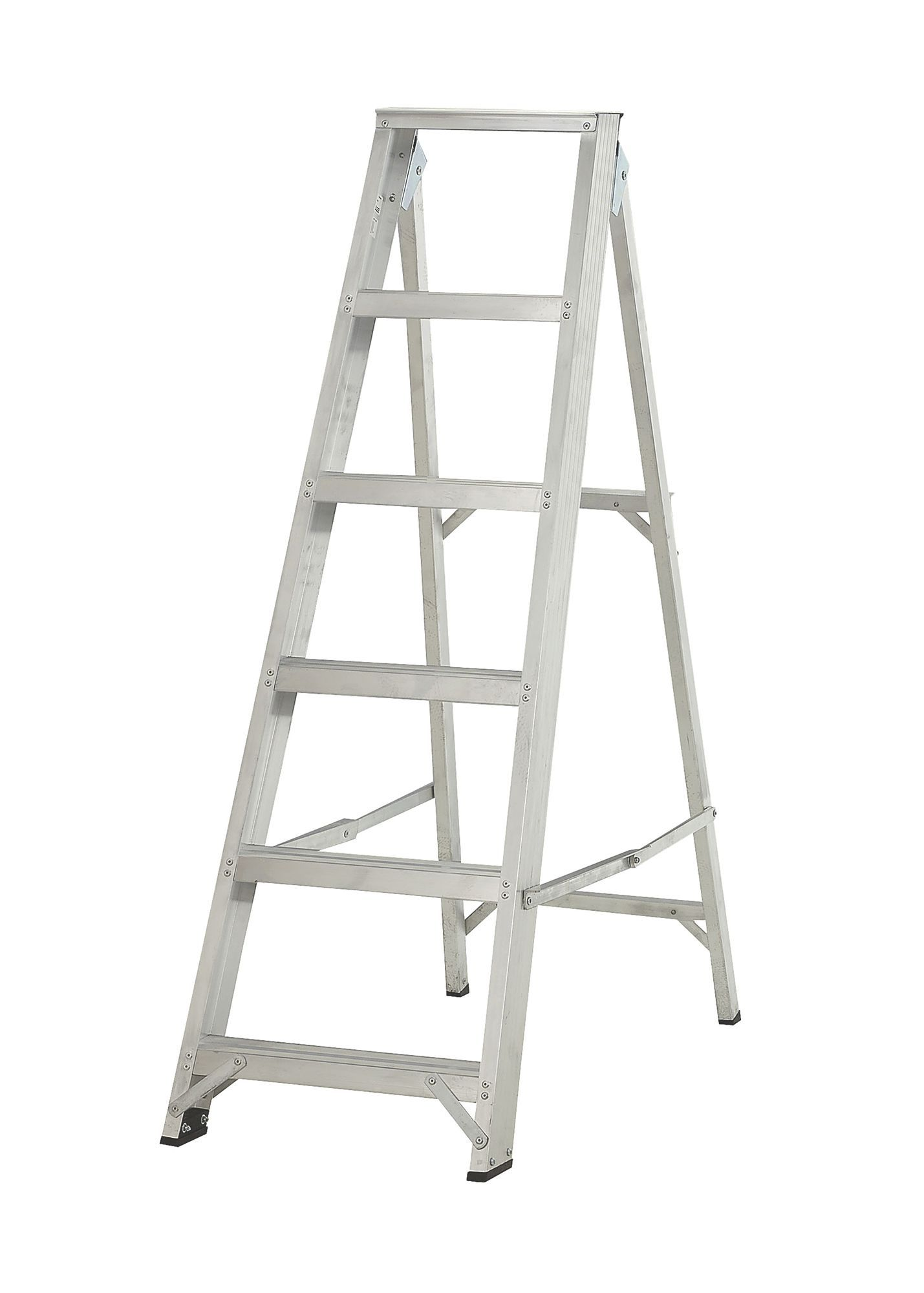 Abru 6 Tread Aluminium Step Ladder 1 27 M Departments