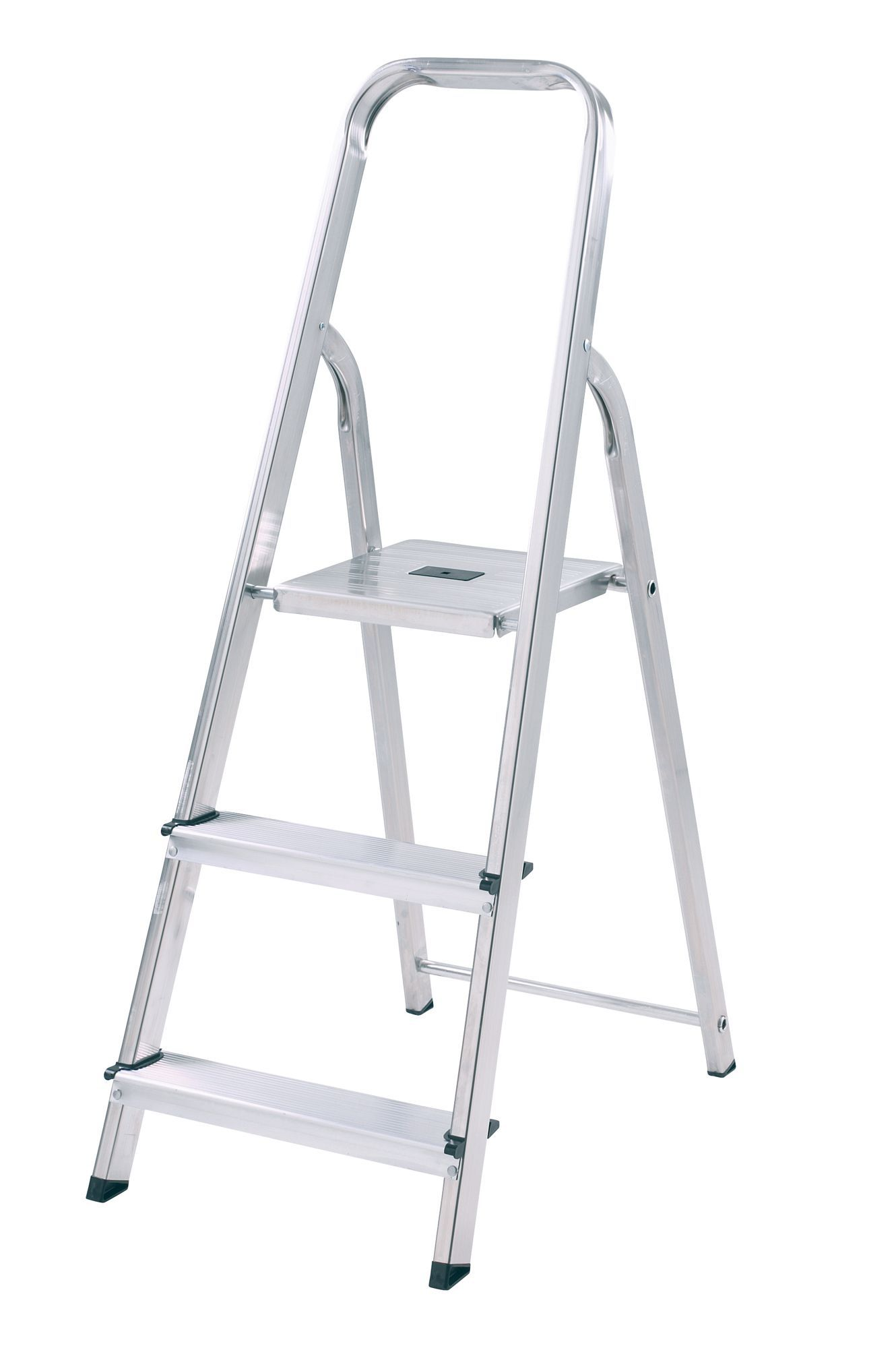Abru 3 Tread Aluminium Step Ladder 1 16m Departments