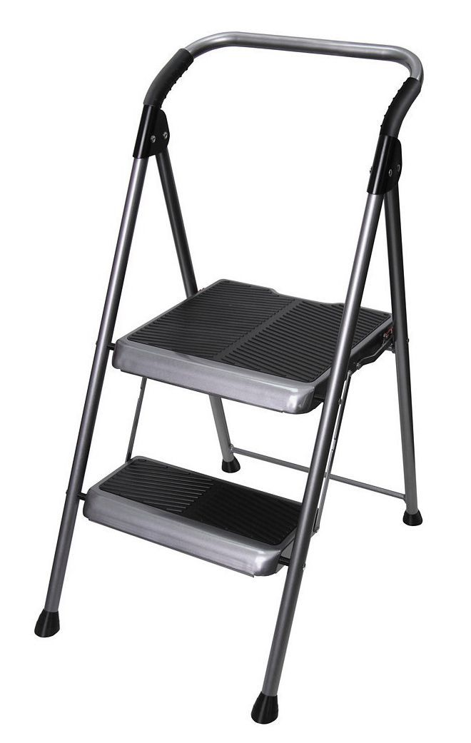 capacity with pdp lb storage step organization rubbermaid folding stool load