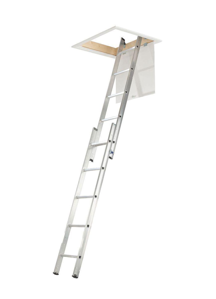 Abru 2 Section 10 Tread Sliding Loft Ladder Departments
