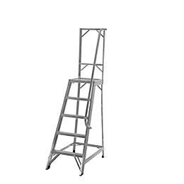 Werner 5 Tread Aluminium Platform Stepladder