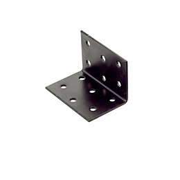 Abru Powder coated Brown Steel Perforated bracket