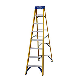 Werner 8 Tread Fibreglass Step Ladder