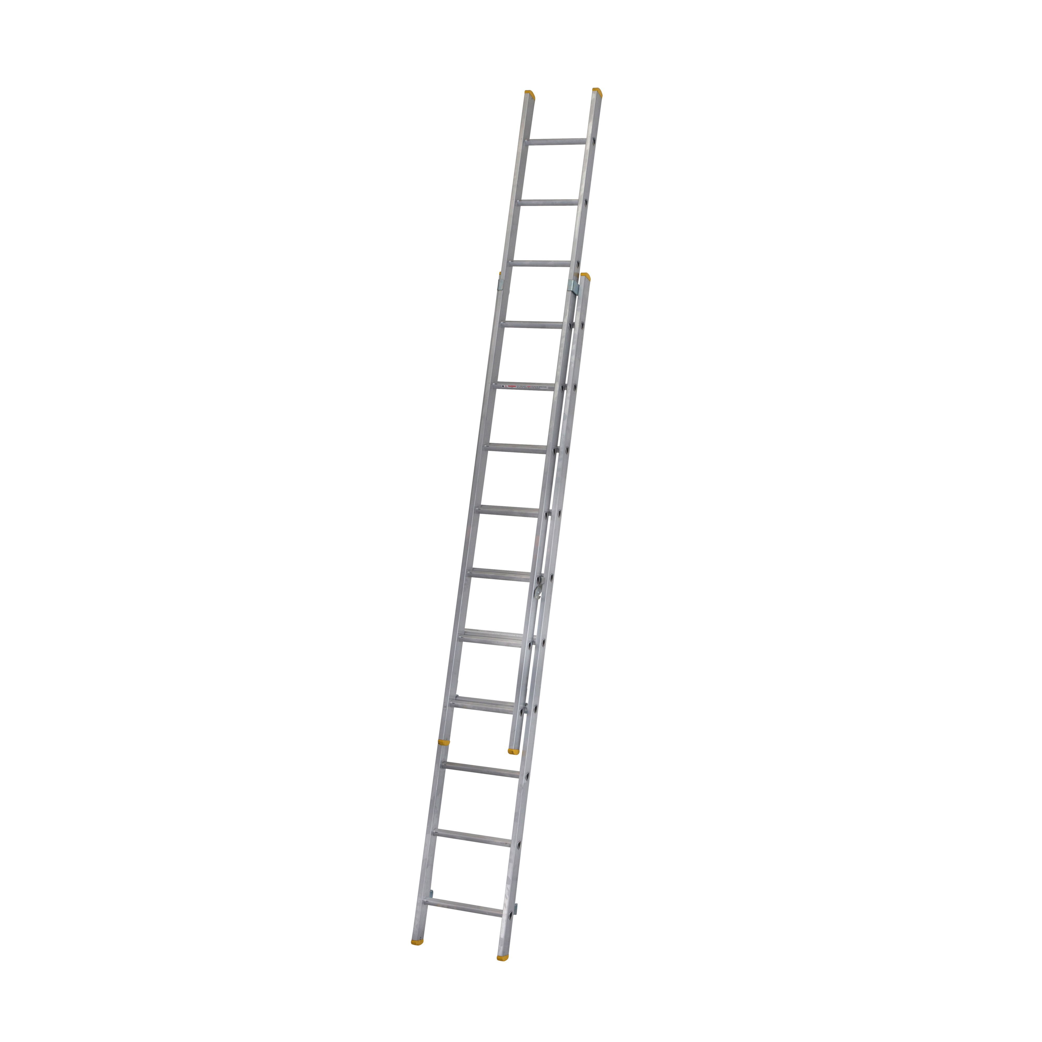Werner Trade Double 20 Tread Extension Ladder Departments Diy At B Amp Q