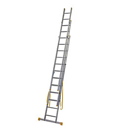 Werner Extensionplus™ Triple 4-Way 36 Tread Combination Ladder