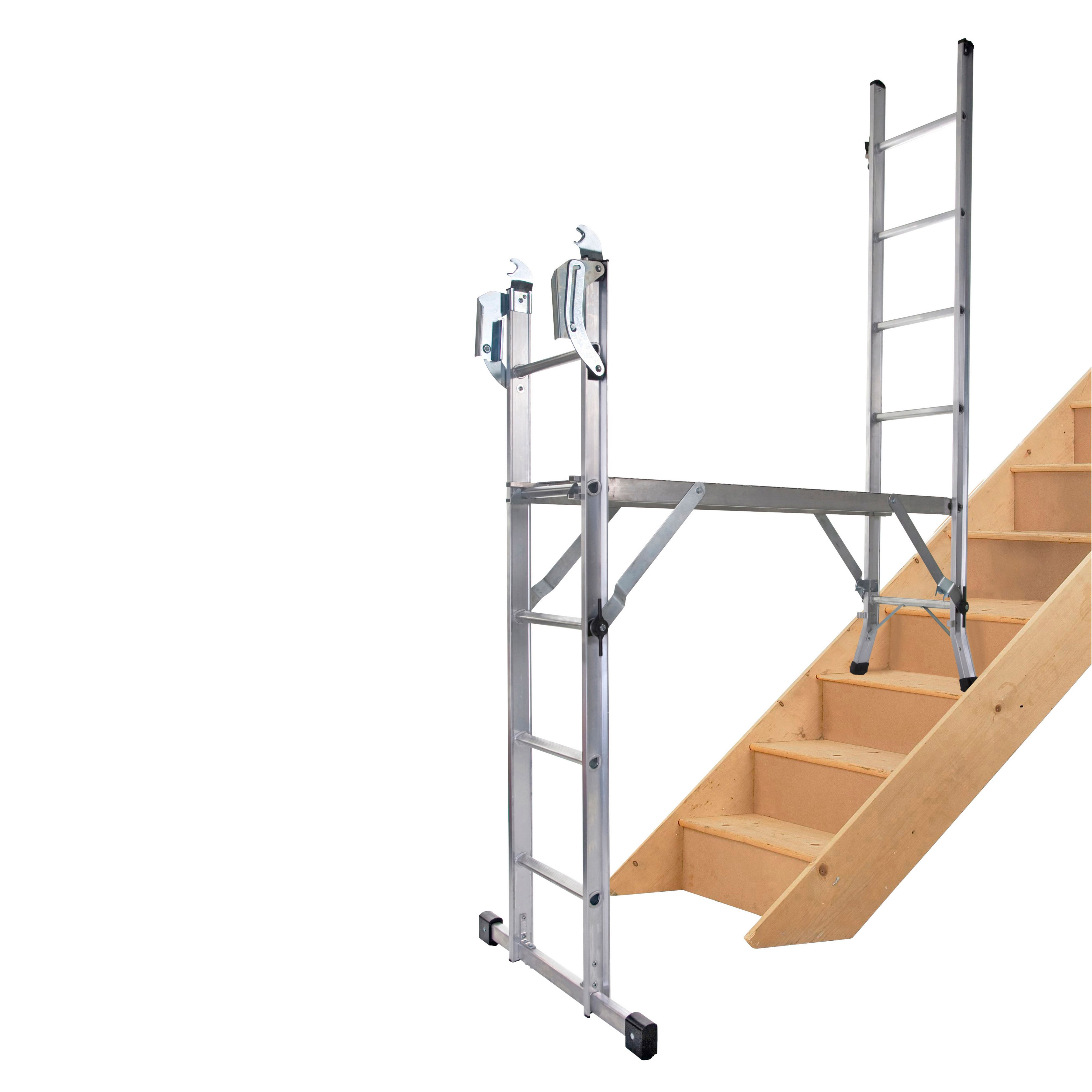 Werner 5 Way 11 Tread Combination Ladder Departments