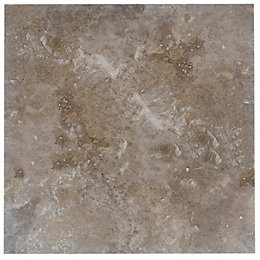 Castle travertine Coffee Stone effect Ceramic Wall &