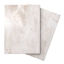 Illusion Cappuccino Marble Effect Ceramic Wall & Floor