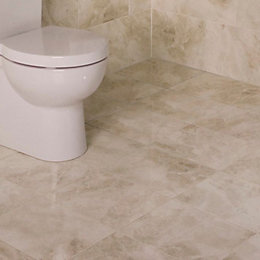 Illusion Cappuccino Marble effect Ceramic Wall & floor