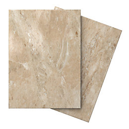 Illusion Mocha Marble effect Ceramic Wall & floor