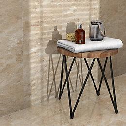 Illusion Mocha Marble effect Ceramic Wall & floor
